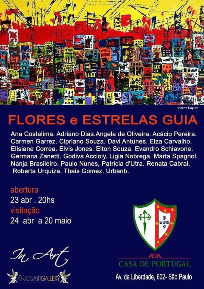 Flores e Estrela Guia - Casa de Portugal - SP
