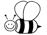 Bee Coloring Pages For Kids Printable