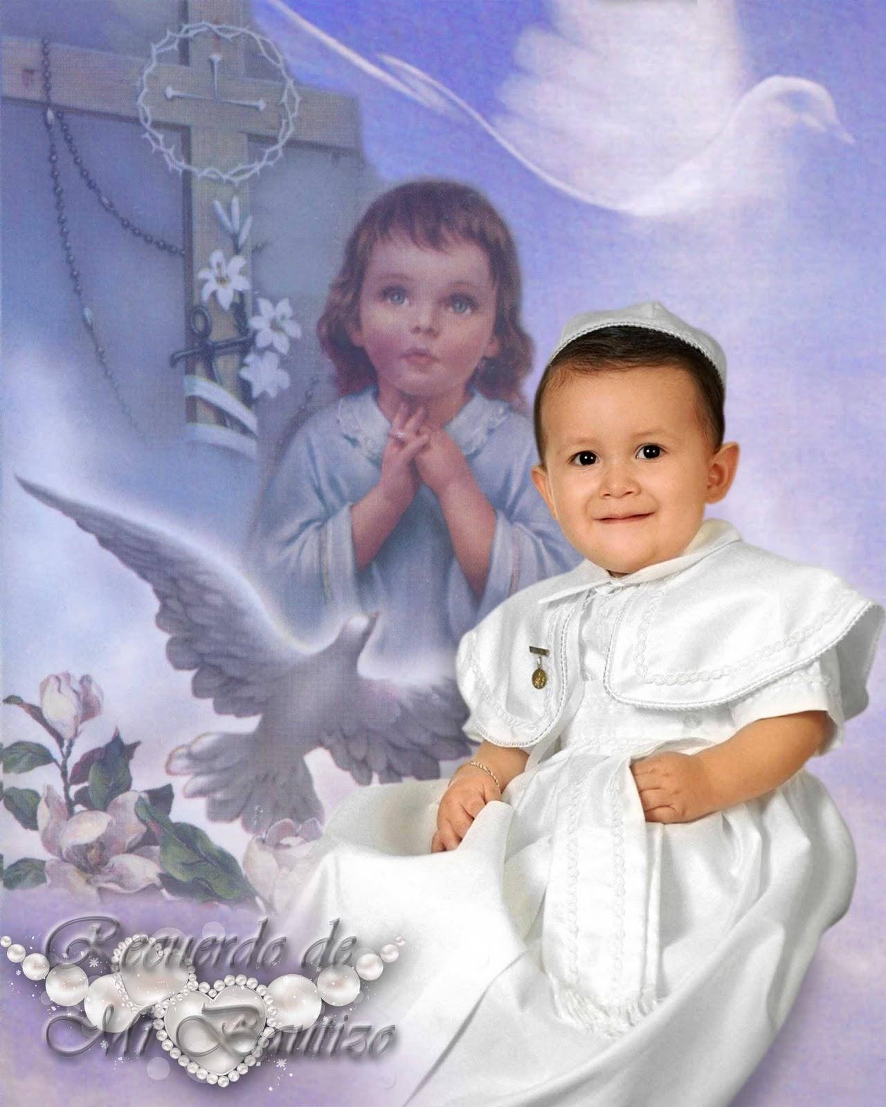 gráfico** Plantillas para photoshop.: Fondo para bautizo en psd