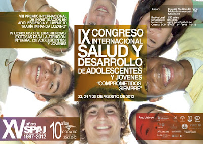 SALUD Y DESARROLLO DE ADOLESCENTES Y JOVENES IX CONGRESO INTERNACIONAL