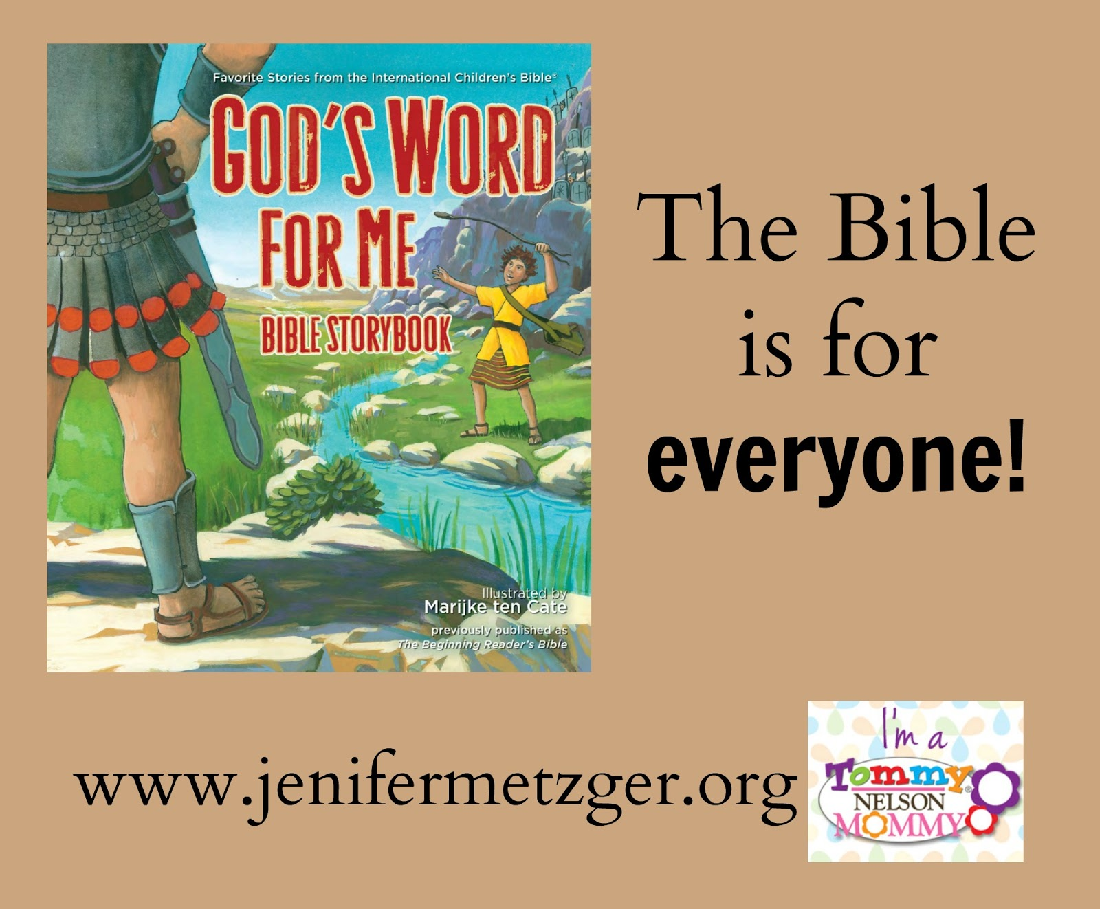 The #Bible is for everyone! #children #tommymommy