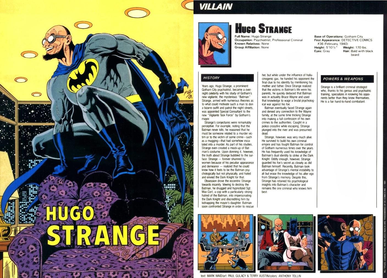 Hugo Strange DC Comics