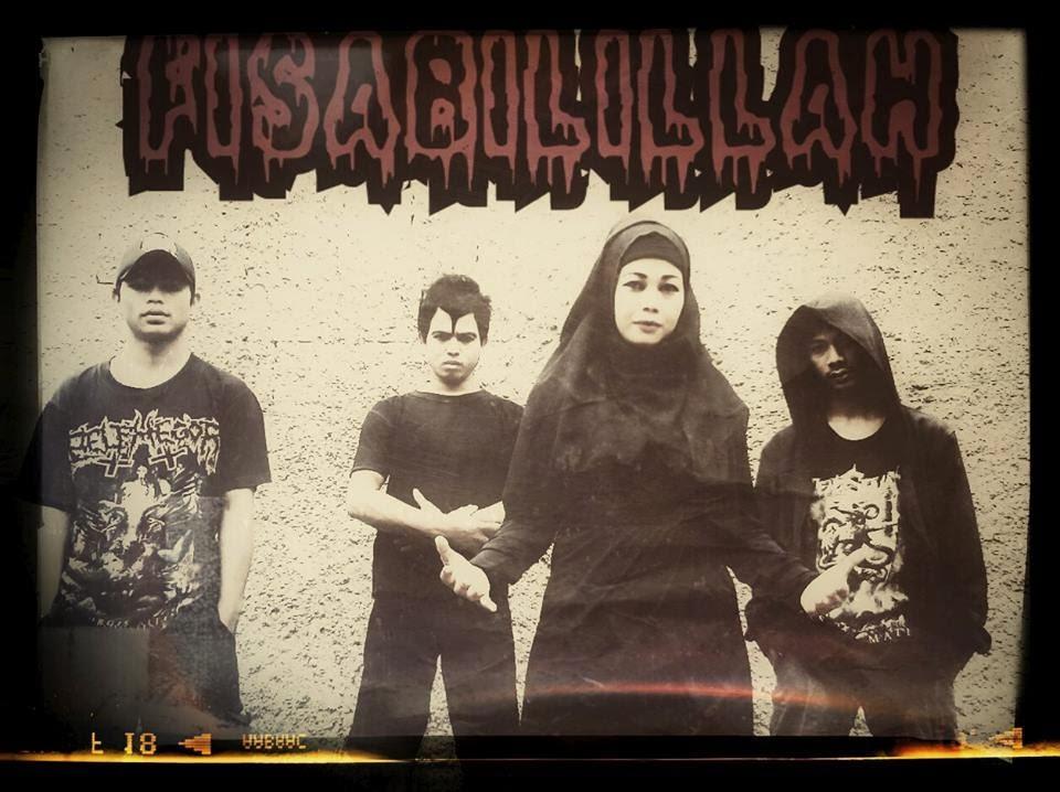 Fisabilillah Band Gothic Thrash Metal Cibubur - Jakarta Timur Foto Personil Logo Wallpaper