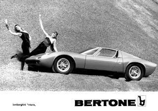 Lamborghini Miura - Bertone