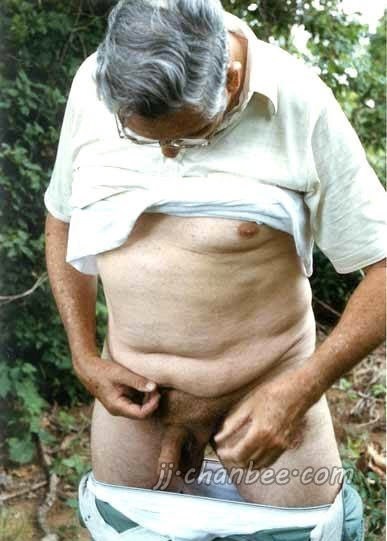 chinese older man naked photo