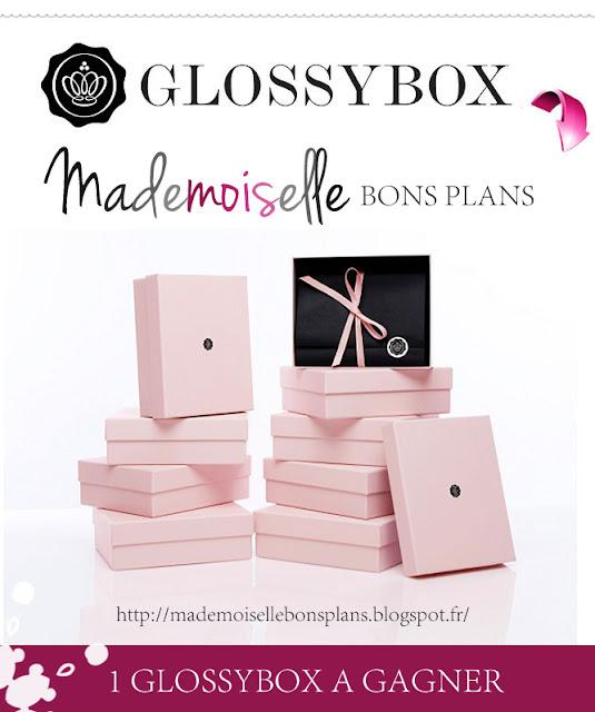 Gagnez une GlossyBox avec Mademoiselle Bons Plans jeu concours GlossyBox 2012 jeu concours mademoiselle bons plans