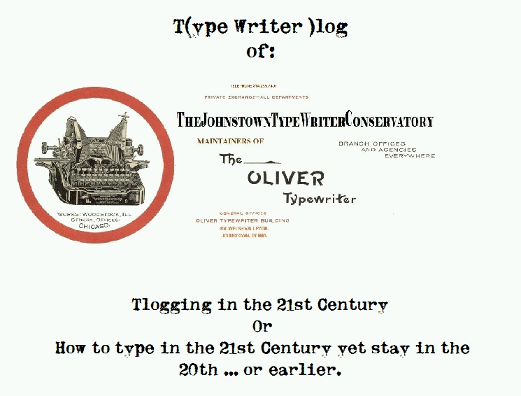 Tlogger T(ype Writer)log