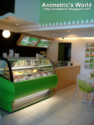 Inside Paradis Natural Ice Cream