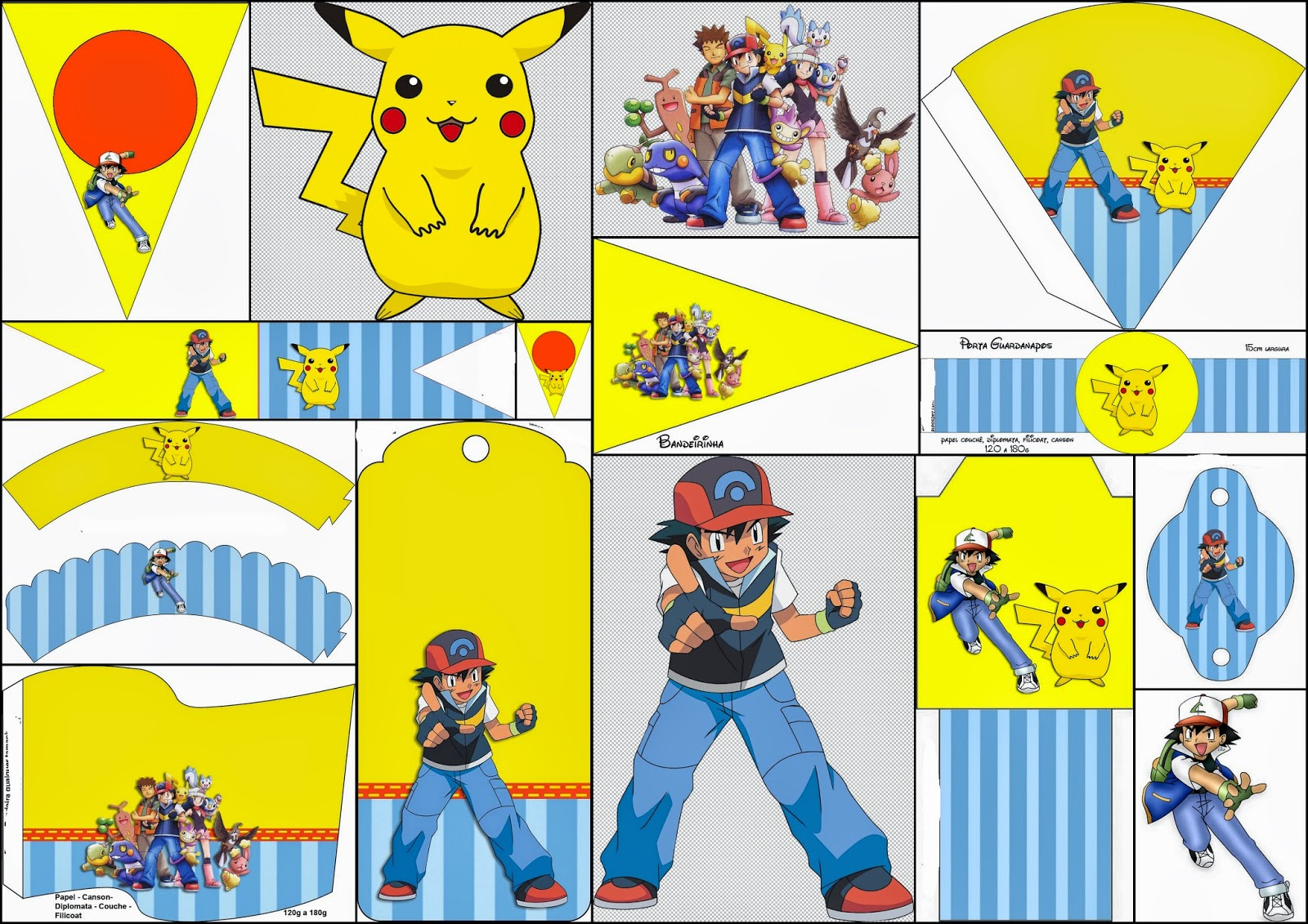 Pokemon: Free Party Printables and Images.