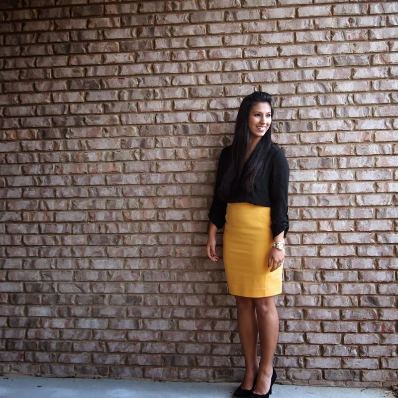 Make sure it's set in suede with this cute, pencil skirt! It has a high, elastic waistband and a short, back slit that makes every step effortless.