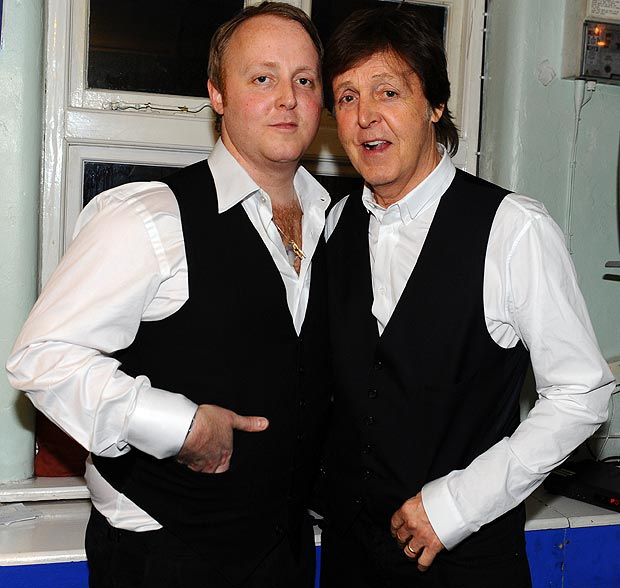 McCARTNEY PHOTO BLOG Father And Son