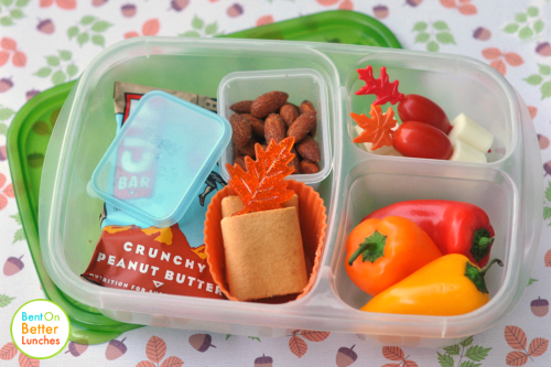 simple Fall / Autumn theme EasyLunchbox bento