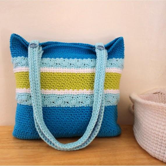 Crochet Summer Bag : new crochet pattern available summer bag this versatile crochet bag ...
