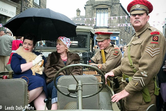 MPs Haworth 1940s Event