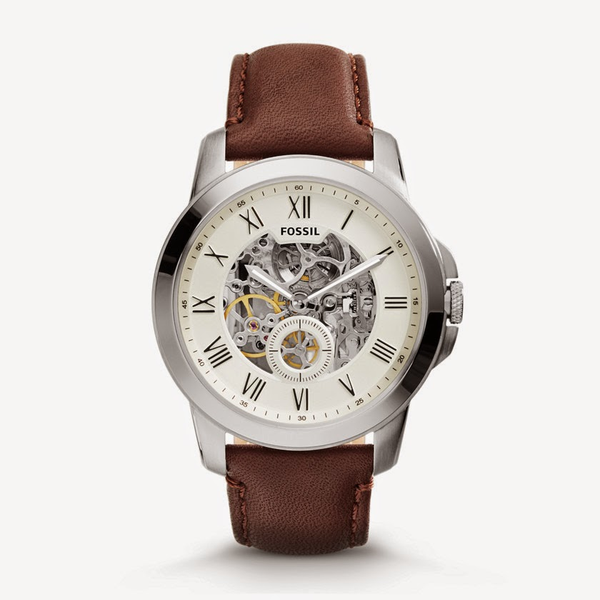 FOSSIL GRANT TWO-HAND AUTOMATIC ME3052