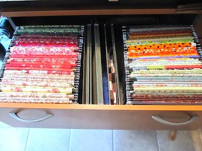 fabric filing