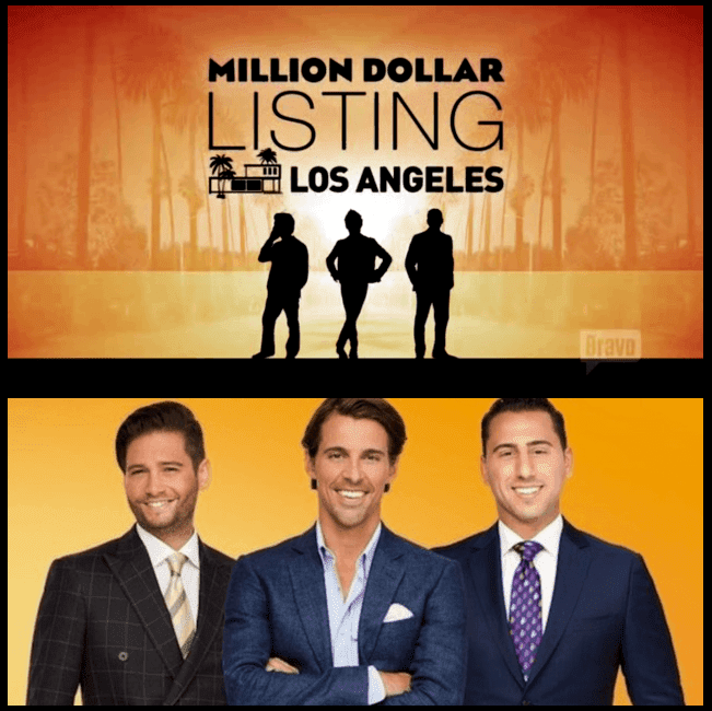 "The cast of Bravo's ""Million Dollar Listing - Los Angeles"" Josh Flagg, Madison Hildebrand, and Josh Altman."