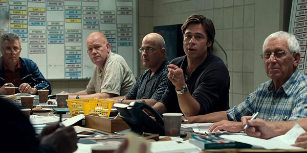 Moneyball. Mejores pelculas del 2011