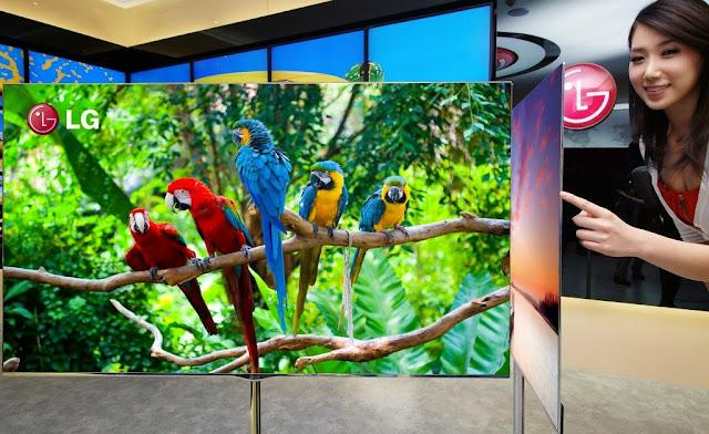 Telviyon teknolojisinde inanılmaz gelişmeler oled tv