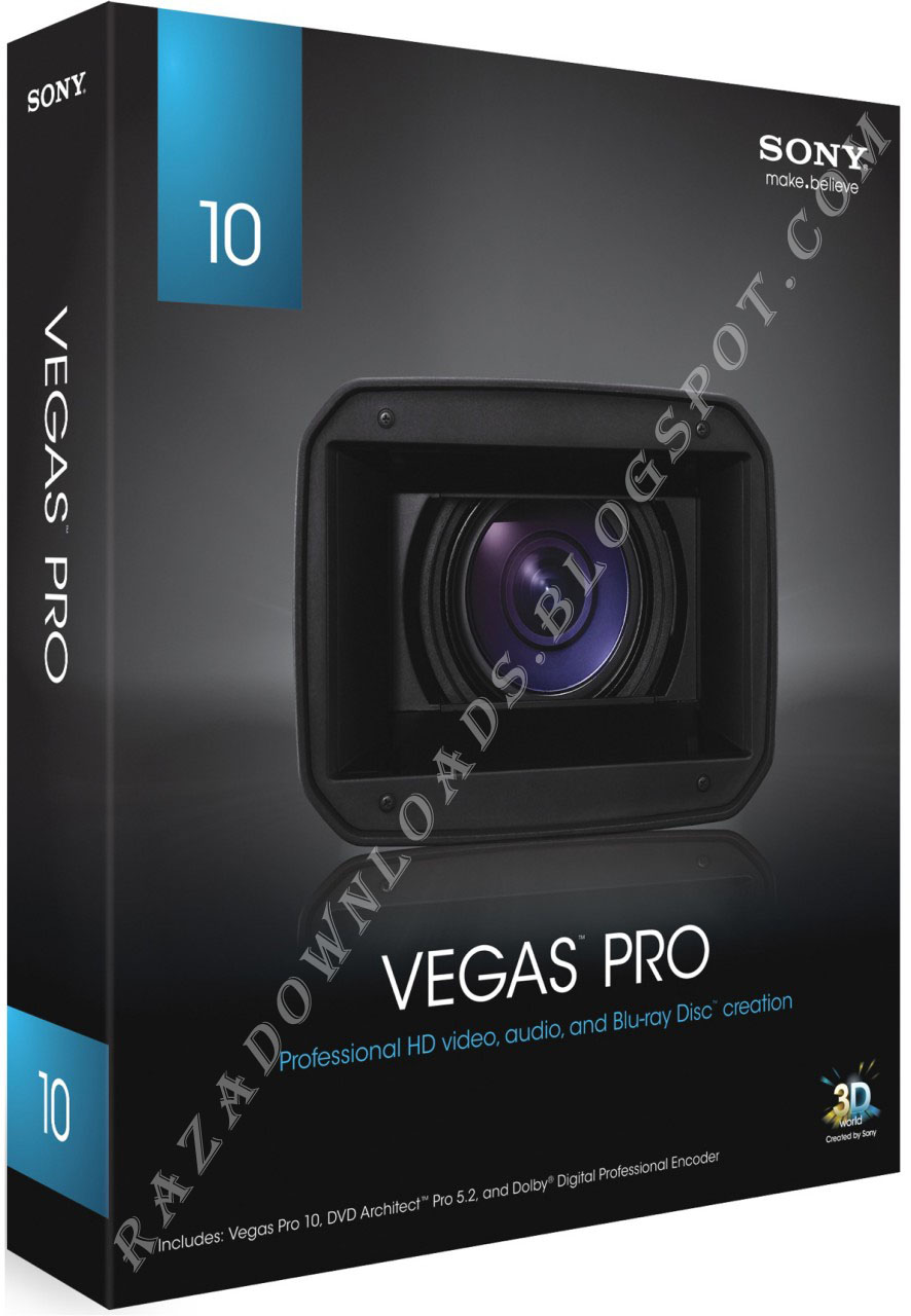 how to use sony vegas pro 10
