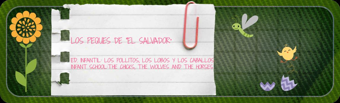 """ED. INFANTIL """"EL SALVADOR COOP. DE ENSEÑANZA"""""""