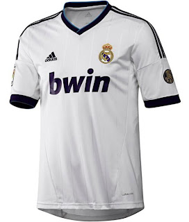 Jersey Real Madrid Home