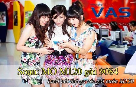 Hướng dẫn đăng ký gói M120 Mobifone