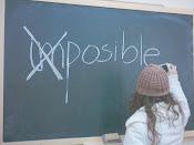 Si crees que es posible, ya tienes la mitad del éxito ganado.