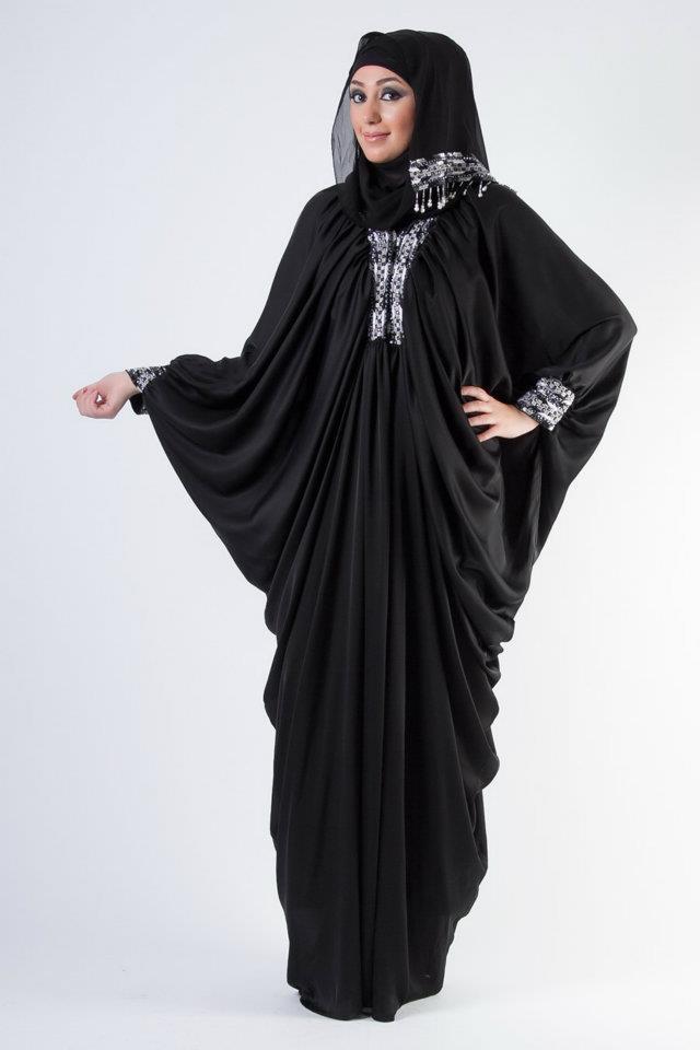 Abaya | Abaya Designs Collection 2013-2014 | Abaya's from Al-Karam ...
