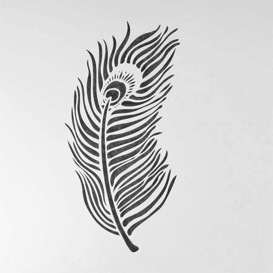 Stencil Feather