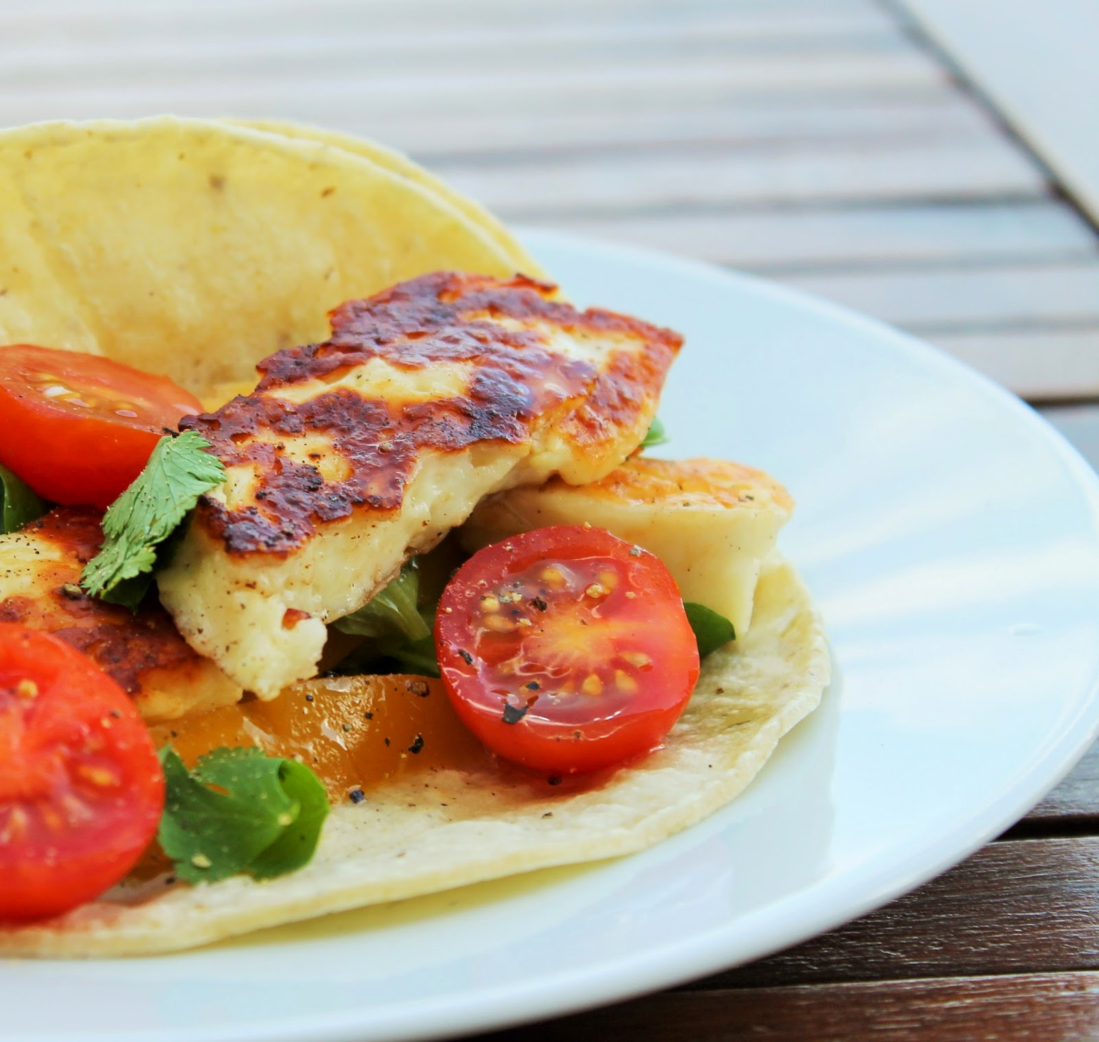 how to cook halloumi in a pan