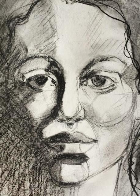 Sketch a day, Galia Alena, Drawn to Expression