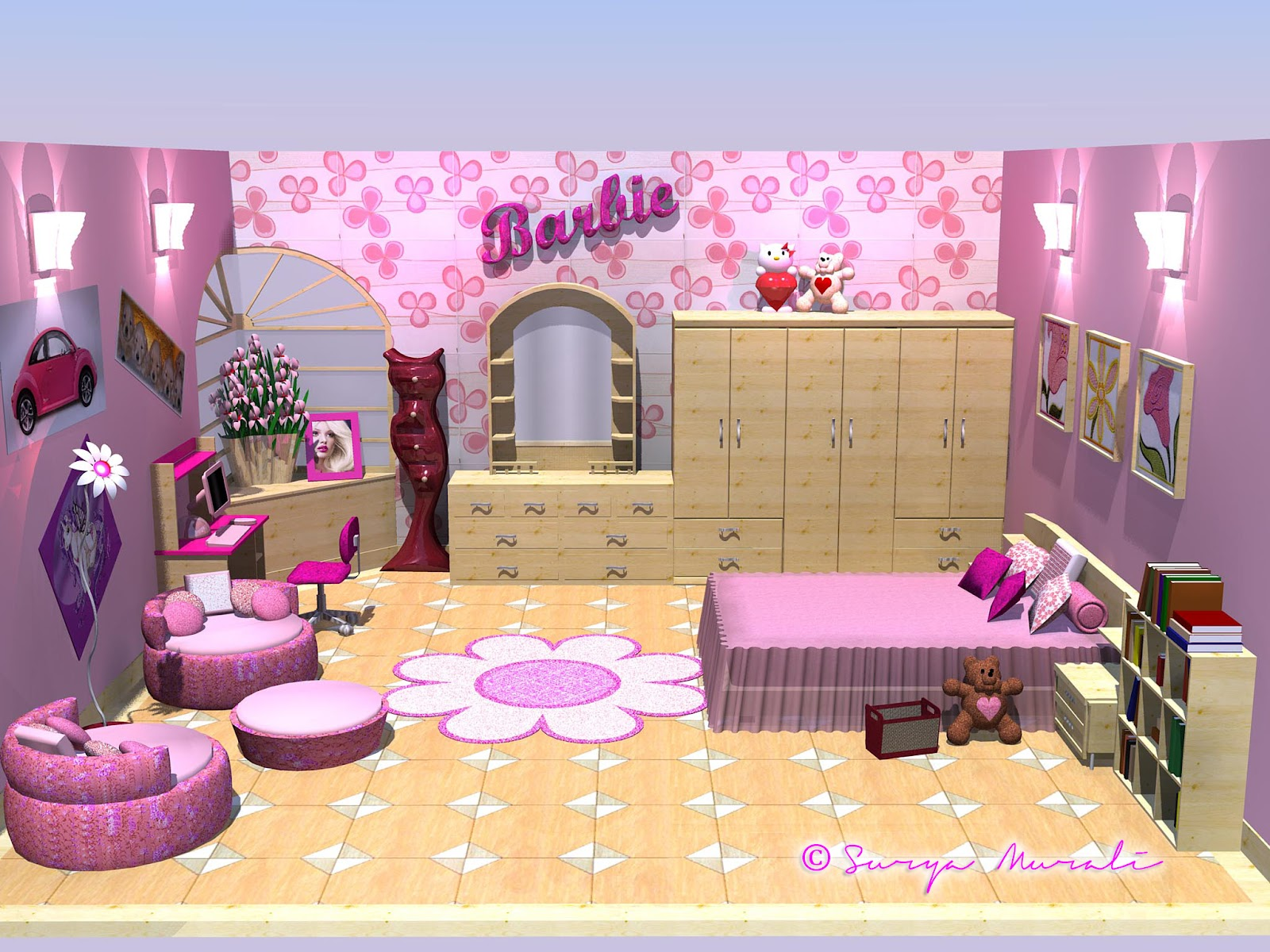 barbie 39 s room my world in three dimensions