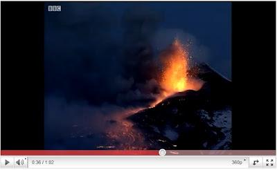 時鐘快轉15分(埃特納火山噴發 時鐘快轉15分)