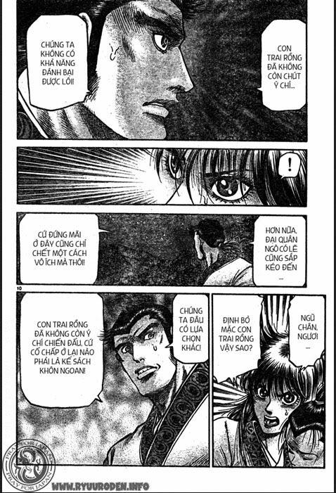 Chú Bé Rồng - Ryuuroden chap 214 - Trang 10