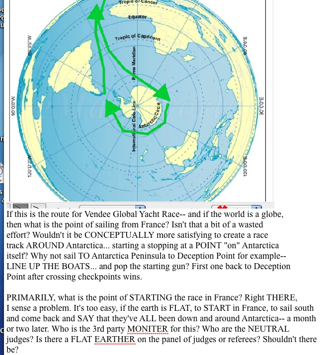 Conclusive evidence turning around antarctica consider the alternative possible route on a flat earth where it would be impossible to travel the 60000 mile antarctic perimeter in a sailboat gumiabroncs Image collections