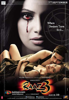 raaz 3 - 2012 Hindi mobile movie poster