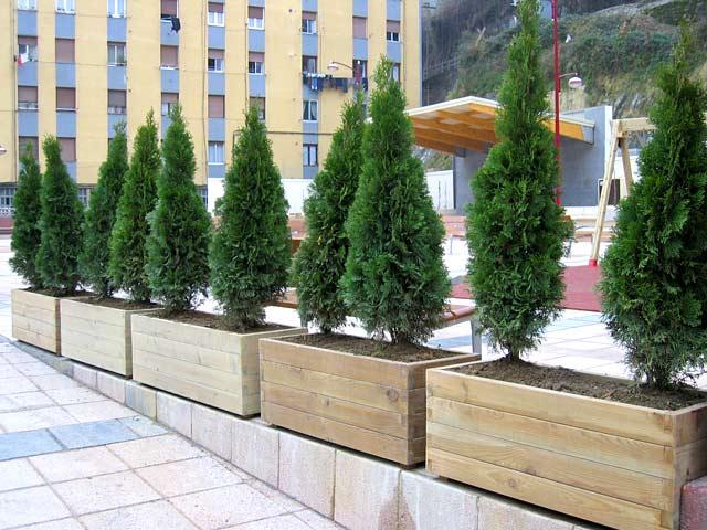 Jardineras como decoracion - Maceteros para balcones ...