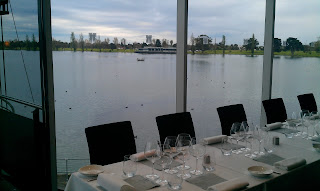 Burgundy 2009 dinner at The Point Albert Park