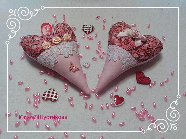 сердце-тильда