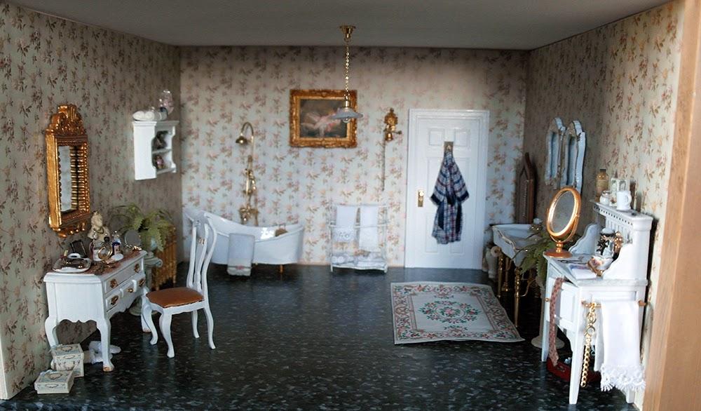 Badkamer Voor Poppenhuis : All about dollhouses and miniatures de badkamer van het