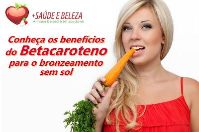 Conheça os benefícios do Betacaroteno para o bronzeamento sem sol