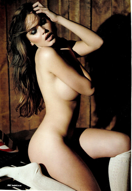 Sabine Jemeljanova Naked For Loader Magazine (February 2013)