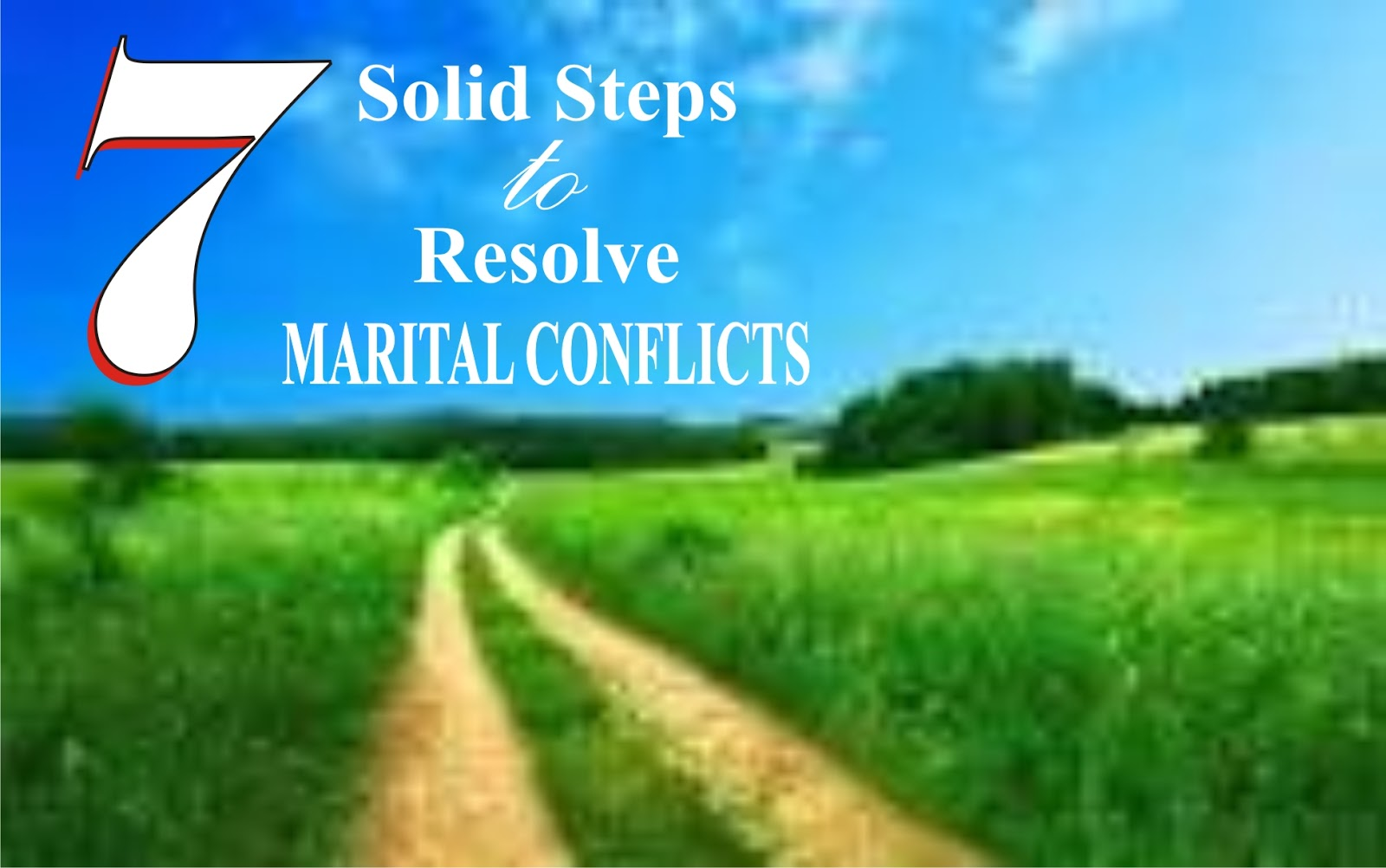 Conflict resolution techniques marriage