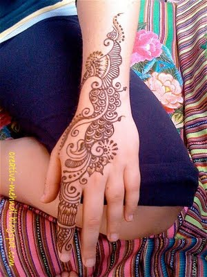 Mehndi Designs Arabic For hand