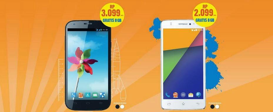 Daftar Harga terbaru Handphone Bolt! 4G Powerphone