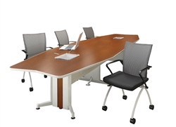 TransAction Series Powered Conference Table by Mayline