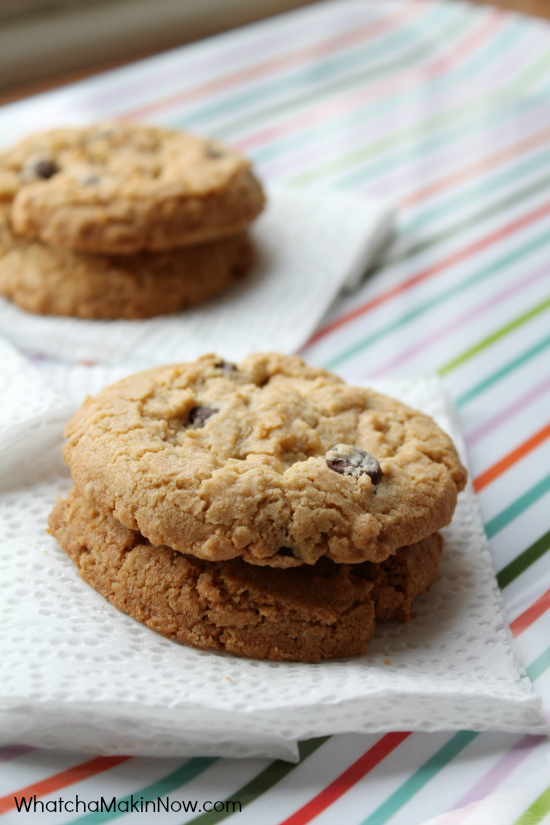 Grandma's Oatmeal Chocolate Chip Cookies - a classic, and always delicious!
