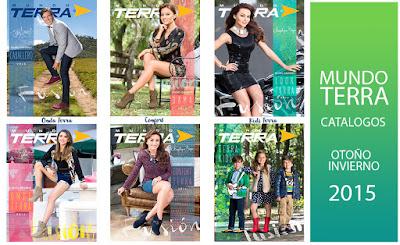 NUEVOS catalogos Mundo Terra  otoño invierno 2015