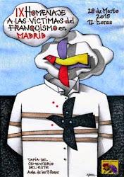 IX Homenaje a las víctimas del franquismo en Madrid